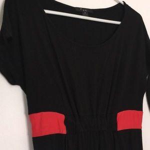 🦚 F21 Color block dress